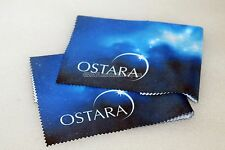 Ostara microfibre cleaning cloth for telescope eyepieces, cameras etc twin pack
