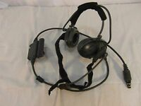 USGI Army Bose AA Battery Powered Triport Tactical Communication Headset 31737