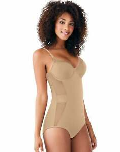 Bali Body Shaper Ultra Light Illusion Comfort U Adjustable Convertible Straps