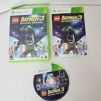 Xbox 360 Batman 3 Beyond Gotham Lego Rated (E) Adventure Video Game Complete
