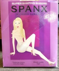SPANX 913 IN-POWER LINE SUPER SHAPING SHEERS sz B / SMALL INVISIBLE/NUDE NOP