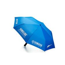 Yamaha Racing Blau Faltbar Regenschirm mit integrierter LED Taschenlampe