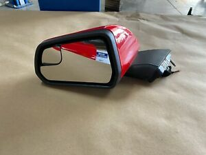 """2015-2019 Ford Mustang GT LH Driver Side Mirror """"Race Red"""" - OEM"""