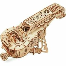 UGEARS 70024 Hurdy Gurdy Musical Instrument Wooden Puzzle - 292 Pieces