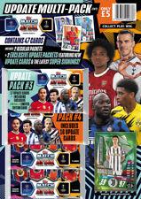 Topps Match Attax Champions League 2020/2021 Update Multipack Set 3 + 4  20/21