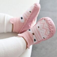 Infant Baby Girls Boys Anti-slip Warm Slippers Socks Cotton Crib Shoe Popular
