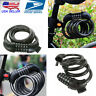 USA Cycling Security 5 DIGIT Combination Password Bike Bicycle Cable Chain Lock