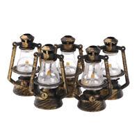 1/12 Puppenhaus Mitur Kerosin Lampe Tischleuchte für Fairy Garden Decor