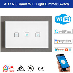 WiFi Smart 1 Gang Trailing Edge Dimmer Switch for Home Automation Voice Control