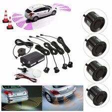 Parking 4 Sensors Car Reverse Backup Rear Buzzer Radar Sound Alarm System