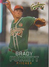 2018 Greensboro Grasshoppers Brady Puckett RC Rookie Miami Marlins