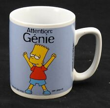 Mug les simpsons attention genie avenue of the stars 2001
