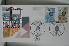 ENVELOPPE PREMIER JOUR 1967 EUROPA