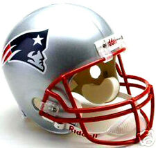 NEW ENGLAND PATRIOTS NFL FOOTBALL RIDDELL DELUXE REPLICA FULL SIZE HELMET