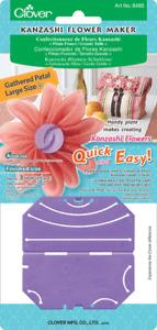 CLOVER Kanzashi Blumen Hersteller Muster Kunst 8485