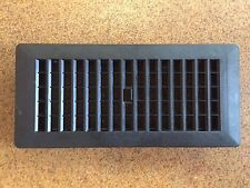 "(20) Floor Register/vent/disffusers 4X10""Blk Plastic RV, mobile hm Decor Grate"