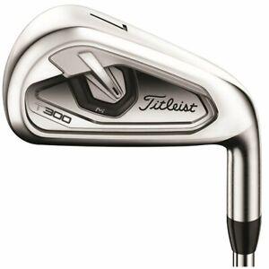 Titleist Golf Club T300 5-PW Iron Set Senior Graphite Very Good