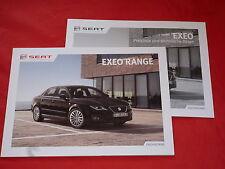 SEAT Exeo + Exeo ST Kombi Reference Style Sport Prospekt + Preisliste von 2012