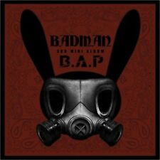 B.A.P [BADMAN] 3th Mini Album CD+PhotoBook+PhotoCard+Stencil K-POP SEALED BAP
