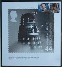 GB - 2013 Dr Who Limited Edition Dalek Stamp Print Card Stamped and Cancelled