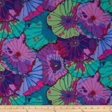 Fat Quarter Kaffe Fassett: Lotus Leaf - PURPLE - Rowan Cotton Quilting Fabrics