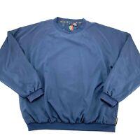 SUNICE Size Extra Large Mens Navy Blue Golfing Pullover Windbreaker Jacket