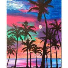 5D Diamond Painting Full Drill Embroidery Cross Stitch Kits Coconut Tree Arts