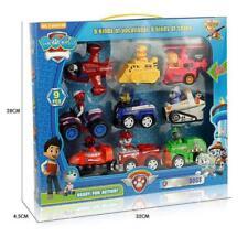 9PCS PAW PATROL Plüsch Puppe Patrol Racer Pups Kinder Spielzeug Geschenke
