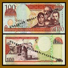 Dominican Republic 100 Pesos Oro, 2009 P-177b Unc
