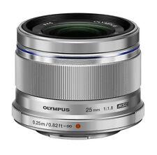 Olympus M ZUIKO DIGITAL 25mm F1.8 Lens  (Silver) world warranty