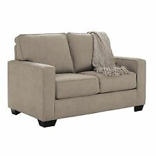 Ashley 3590237 Zeb Twin Sofa Sleeper Quartz Finish Fabric Upholstery
