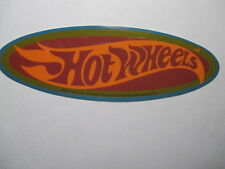 Hot Wheels Vintage Official Original Mattel  Sticker 6 x 2 inches (from 2002)