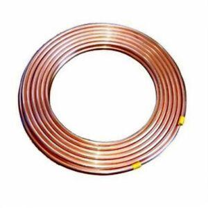 1,0m Kupferrohr weich, Ring 8 x 1,0 mm CU Rohr 8mm aussen bis max. 50m lieferbar