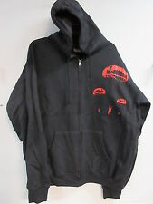 NEW - INTERPOL CONCERT / MUSIC / BAND ZIP UP HOODIE SWEATSHIRT 2XL / X X LARGE