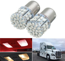 2Pcs Red Interior 1156 LED Dome Sleeper Cab Light Bulb For Freightliner Cascadia