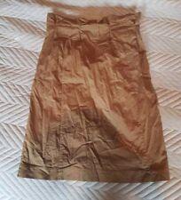 Ladies 'H&M' Khaki Skirt. UK 10. vgc