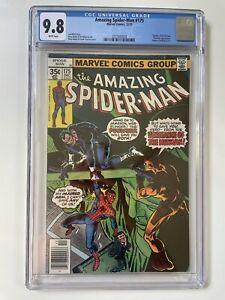 Amazing Spider-Man #175 CGC 9.8 White (1977) Bronze Age Punisher Death of Hitman