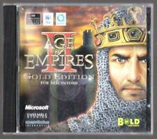 Age of Empires 2 The Age of Kings Gold Edition Mac Macintosh Apple Spiel