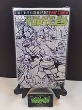 Teenage Mutant Ninja Turtles Secret History Footclan #1 RI Sketch Variant NM
