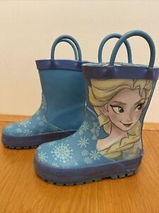 NEXT Frozen elsa Wellies INFANT 5