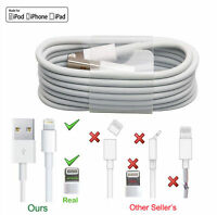New Lightning Sync & Charger USB Data Cable For Apple iPhone 6 5 7 iPad Air Lot