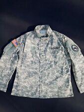 US ARMY Uniform ACU Combat Field Jacket Hemd Medium Regular Fast Neuwertig FR