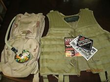 CAMELBAK MAXIMUM GEAR AND BLACK HAWK STRIKE OMEGA VEST NEW