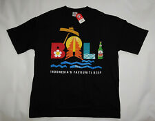NWT BINTANG Pilsener Bali Indonesia's Favourite Beer Tourist T SHIRT Men's XL
