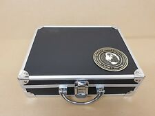 Aluminium Coin Display Case - Holds 214 Coins - 6 Trays