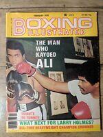 February 1979 Boxing Illustrated Magazine Muhammad Ali Kent Green Larry Holmes