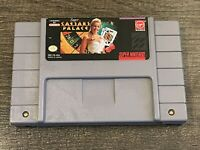 Super Caesars Palace - SNES Super Nintendo Game - Tested - Working