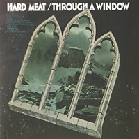 HARD MEAT-THROUGH A WINDOW-IMPORT MINI LP CD WITH JAPAN OBI Ltd/Ed G09