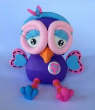 1 edible 3D HOOTABELLE OWL cake CUPCAKE topper DECORATION GIGGLE kids tv LARGE