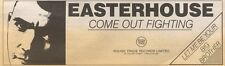 4/3/89Pgn19 Advert: Easterhouse 'come Out Fighting' New On Rough Trade 3x11
